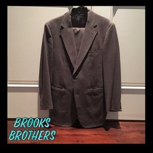 Brooks Brothers brown suit 40R